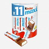 Kinder maxi pack de 11 barres 231g