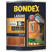 Bondex lasure ultra classique 5 ans teck 1l