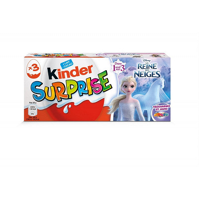 Kinder Kinder surprise x3 reine des neiges 50g