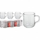 Lot de 3 Mugs 24 cl