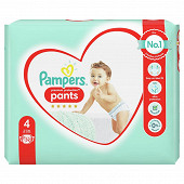 Pampers active fit pants geant t4 x 32