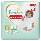 Pampers active fit pants geant t6 x28