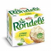 Président Rondelé citron/basilic 125g