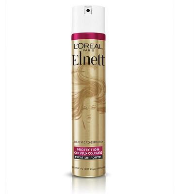 L'Oréal Elnett laque cheveux colorés fixation forte 300ml