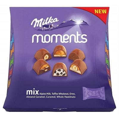 Milka Milka moments assortiment mix 169g