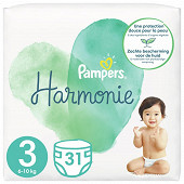 Pampers harmonie t3 x 31 geant