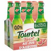 Tourtel twist agrume 6x27.5cl 0%vol