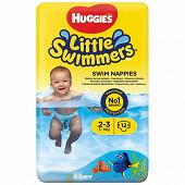Huggies little swimmers maillots de bain jetables T2/3 x12