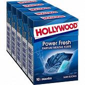 Hollywood menthe forte sans sucre 5x10d 70g