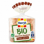 Harrys pain de mie bio complet américain sandwich 400g