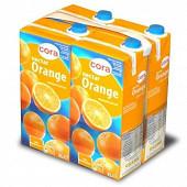 Cora nectar orange brique 4x2 l
