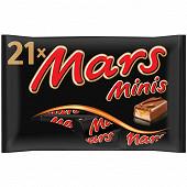 Mars minis barre chocolat caramel 403g