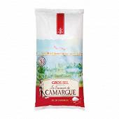 Saunier de camargue sachet poly sel de mer gros 1kg