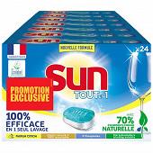 Sun tablette tout en 1 efficace & respecteurx citron x24 lot de 7