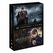 Coffret Dvd les animaux fantastiques 1&2