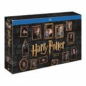 Coffret bluray Harry Potter l'intégrale édition Prestige