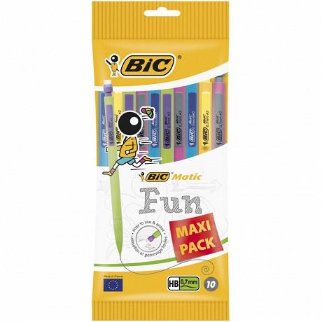 Bic porte mine matic combos 0.7mm maxipack x 10