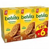 Lu belvita brut de céréales lot x6 2400g