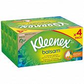 Kleenex mochoirs boite balsami 72x4