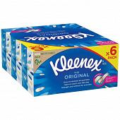Kleenex original boite 80 mouchoirs x6