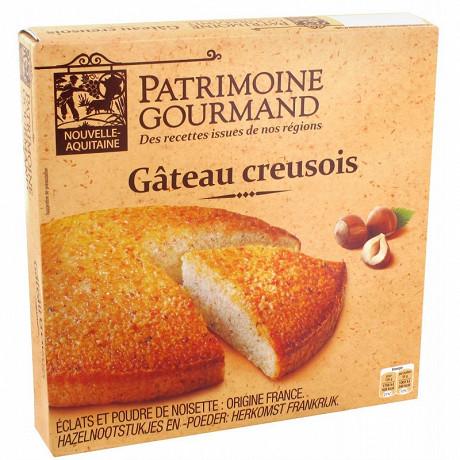 Patrimoine gourmand gâteau creusois aux noisettes 350g