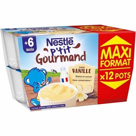 Nestle p'tit gourmand vanille promo max format 1200g