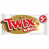 Twix white barre chocolat blanc biscuit caramel 5x2 230g