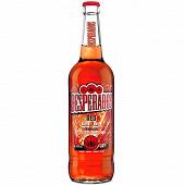 Desperados red bière aromatisée téquila, cachaça, guarana 65cl 5.9%vol