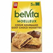 Lu belvita moelleux coeur gourmand chocoat noisettes  250g