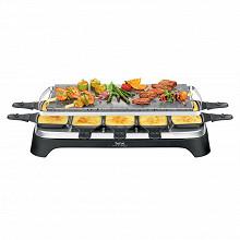Tefal pierrade et raclette inox et design PR457B12