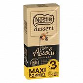 Nestlé dessert noir absolu 3x170g