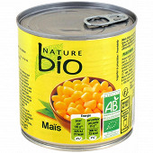 Nature bio maïs doux boite 285g