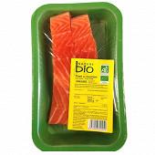 Pavé de saumon 2x125g nature bio