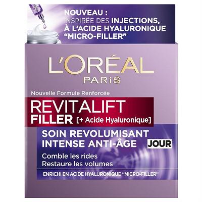 L'Oréal Dermo revitalift filler soin anti age revolumisant jour 50ml