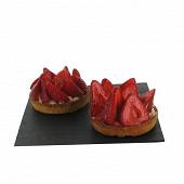 Tartelette aux fraises x2