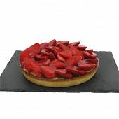 Tarte aux fraises 6/8 parts