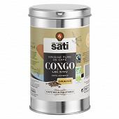 Café sati café grains bio max havelarr congo boîte métal 250g
