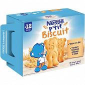 Nestlé P¿tit biscuit dès 12 mois 180g