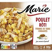 Marie poulet rôti pommes de terre fondantes 900g