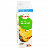 Cora pur jus d'ananas 1l