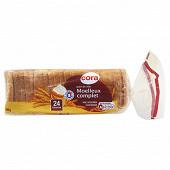Cora pain de mie moelleux complet 500g