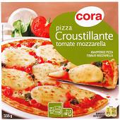 Cora pizza croustillante tomate mozzarella 335g