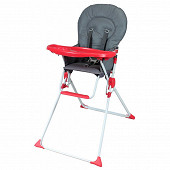 Chaise haute fixe avec tablette réglable Bambisol