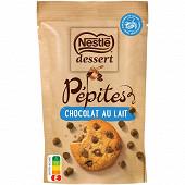 Nestlé Dessert pépites de chocolat au lait 100g