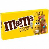 M&m's biscuits chocolat au lait x10 198g