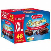 Brossard brownie pocket choco pépites x48 1440g