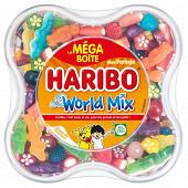 Haribo world mix méga boîte 850g