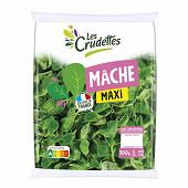 Les Crudettes salade mâche format maxi sachet 200g