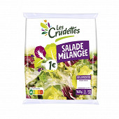 Les Crudettes salade mélangée 1  sachet 160g