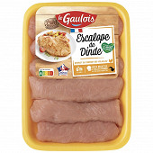 Le Gaulois escalopes de dinde x6 720g